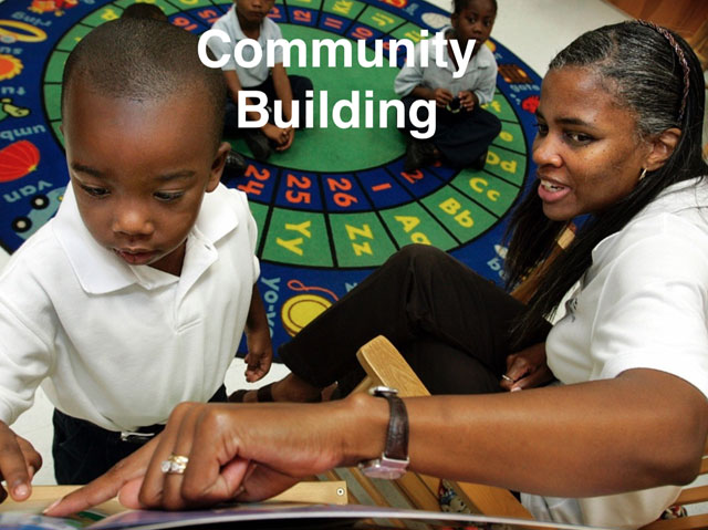 Coaching for Community Building with Instructional Coaching Group