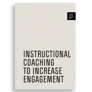 "Photo of the cover of ""Instructional Coaching to Increase Engagement"" Workbook"