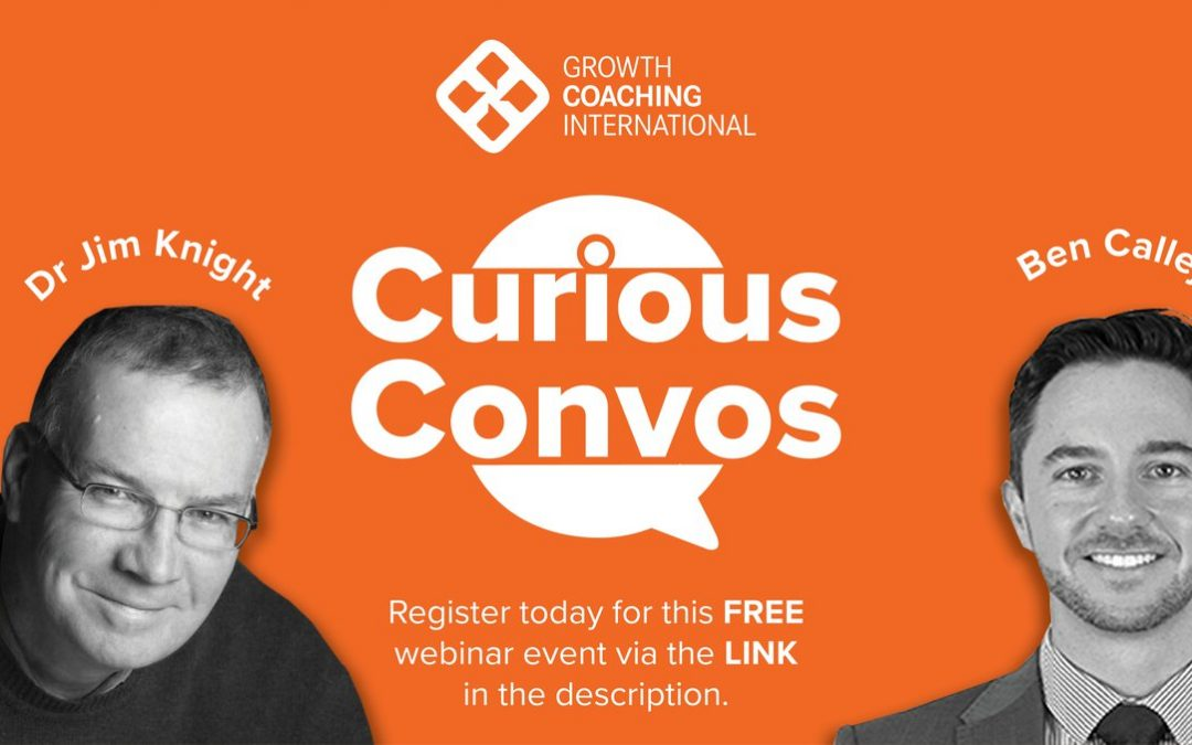 Tonight: Curious Convos with Chris Munro, Featuring Jim Knight & Ben Calleja