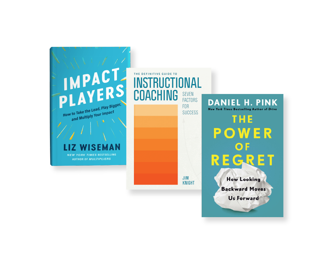 Register for TLC and get the latest book from Dan Pink, Liz Wiseman, and Jim Knight!
